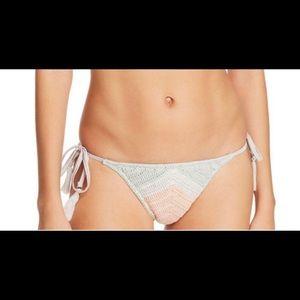 NWT SUBOO Chevron Crochet bikini bottom